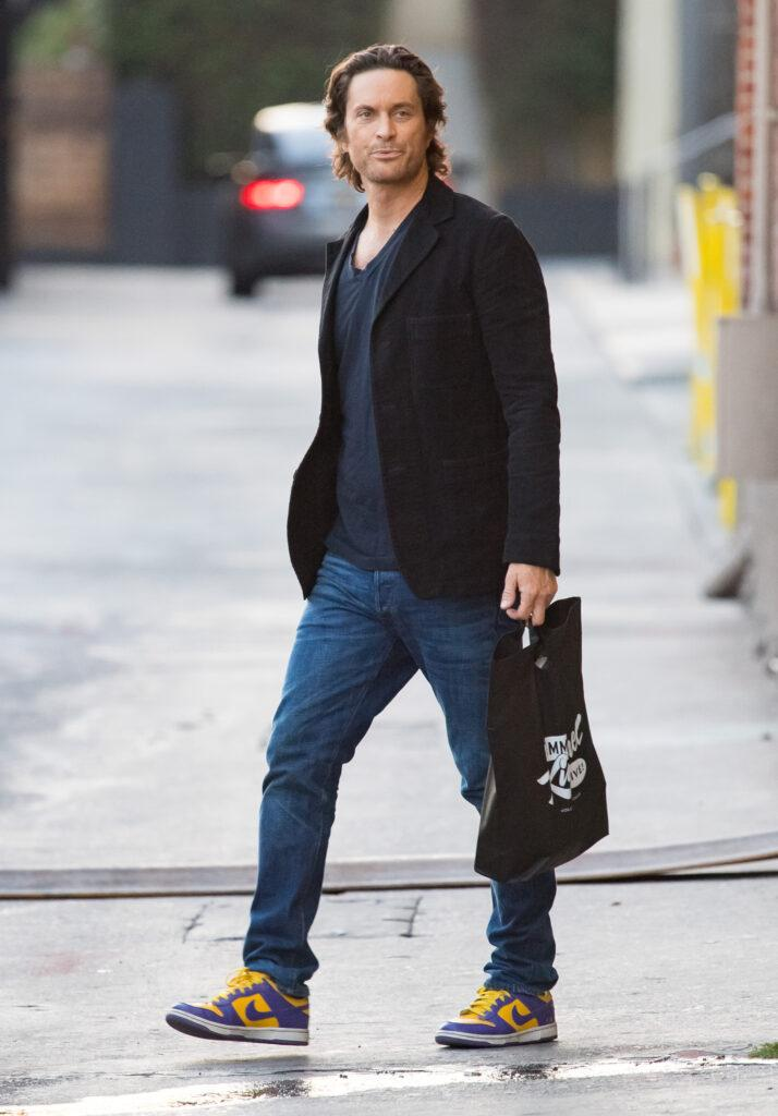 Oliver Hudson at apos Kimmel apos