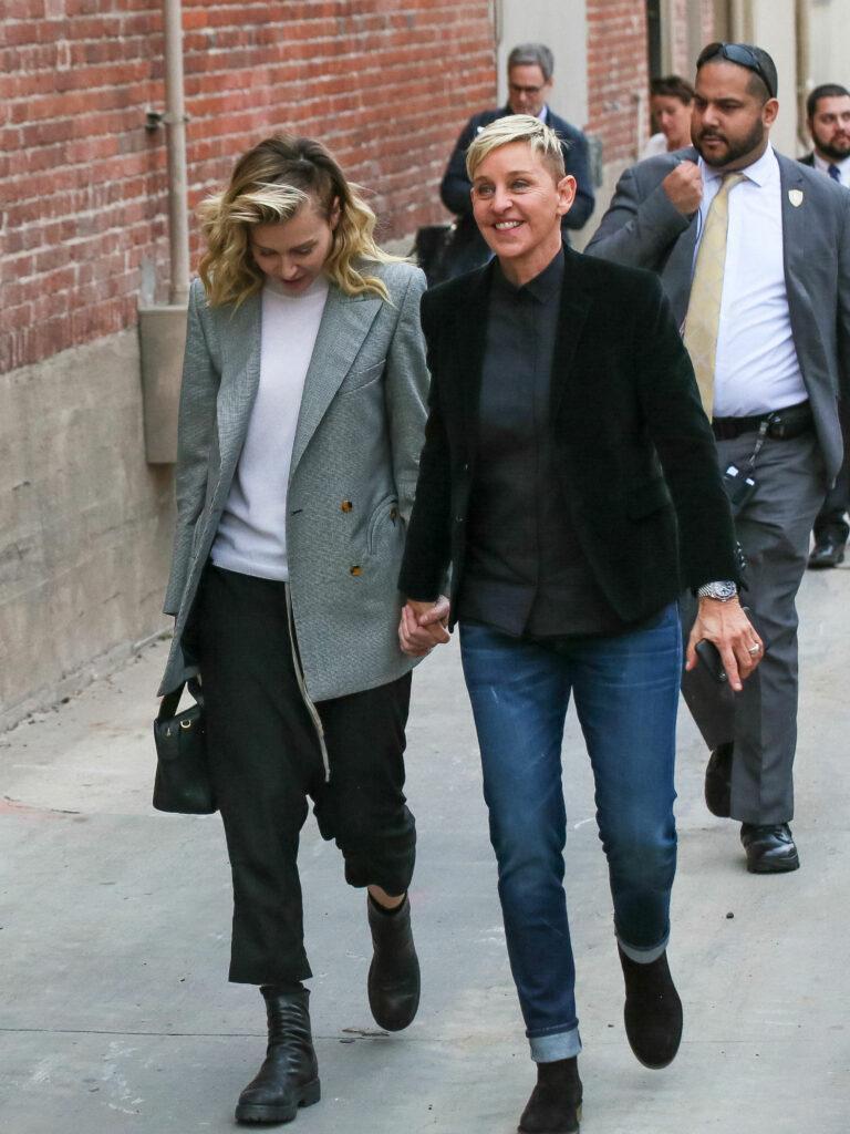 Ellen DeGeneres at Jimmy Kimmel Live