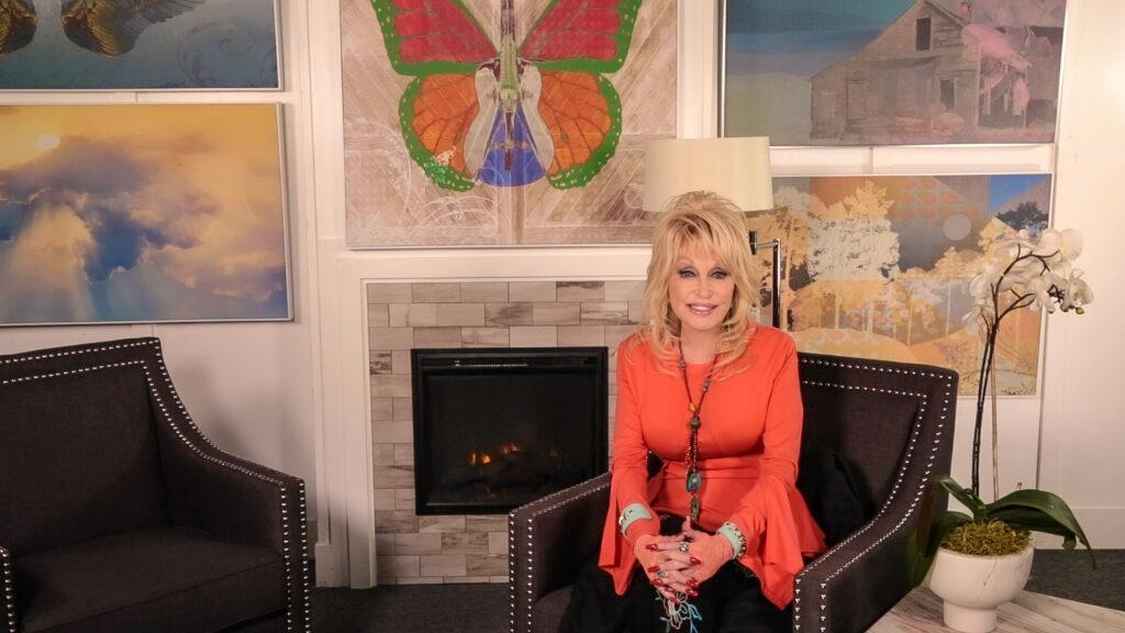 Dolly Parton artwork released at home decor chain Kirkland s to celebrate career of iconic country star