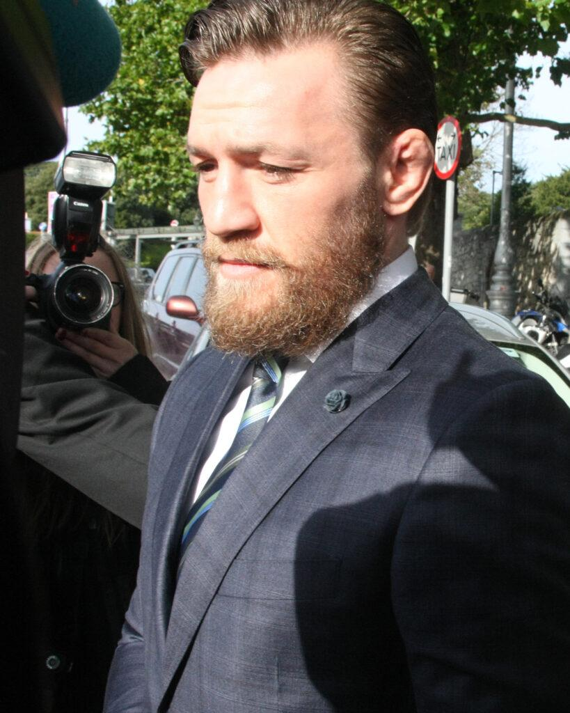 Conor McGregor Dublin Court in ireland today