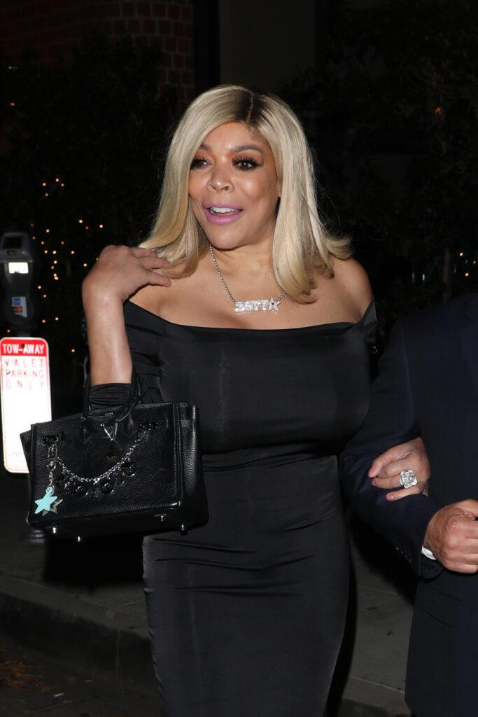 Wendy Williams celebrates at Mr Chow restaurant after getting a star on the Hollywood Walk of Fame