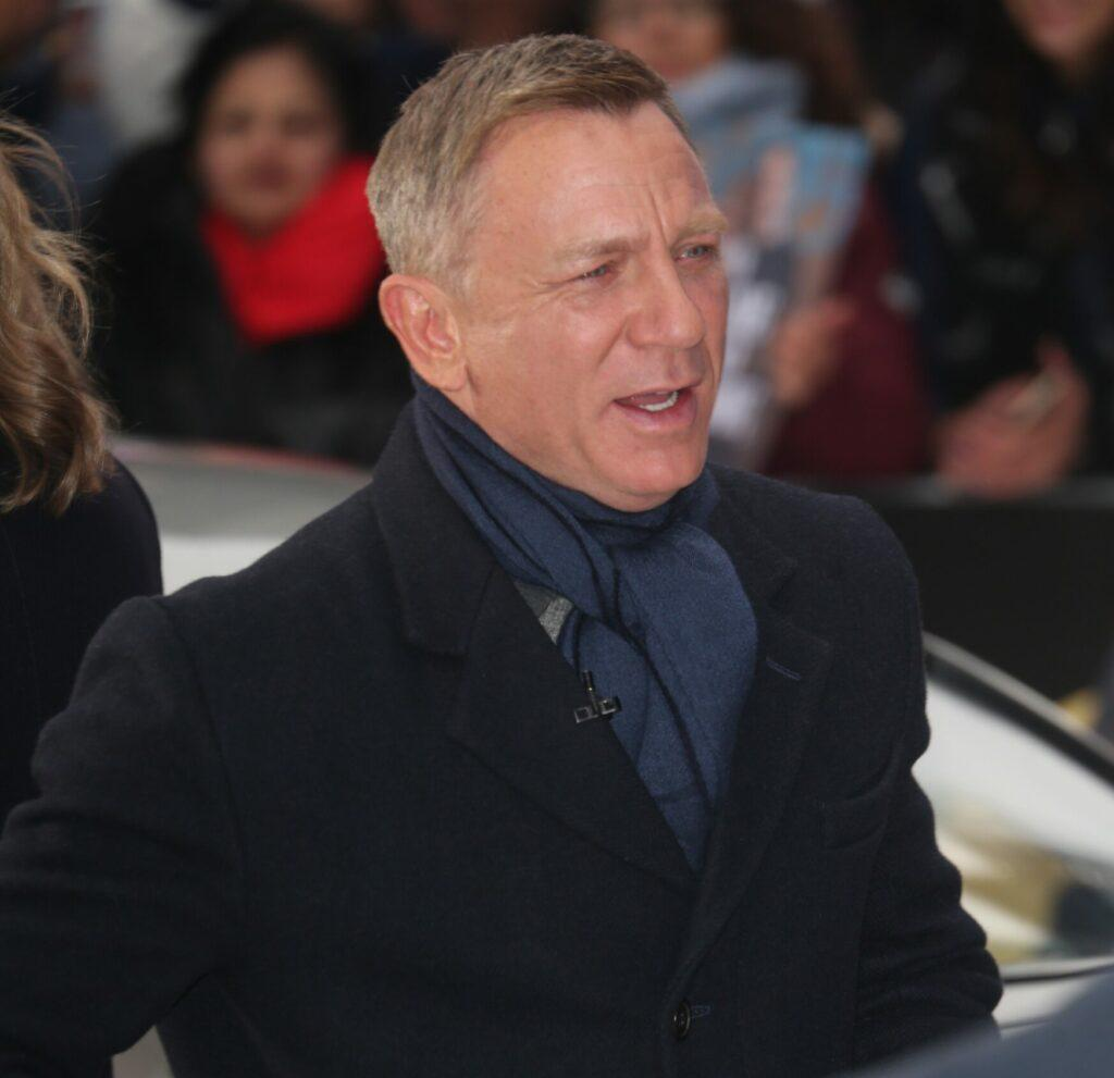 Cast of James Bond No Time To Die at GMA