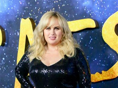 Rebel Wilson Shows Off Slimmer Figure In Red Swimsuit, Encourages Fans To Improve Themselves