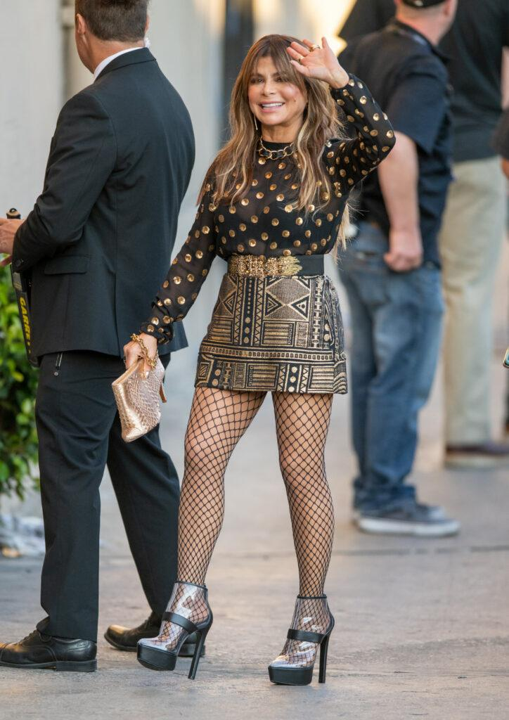 Paula Abdul at apos Kimmel apos