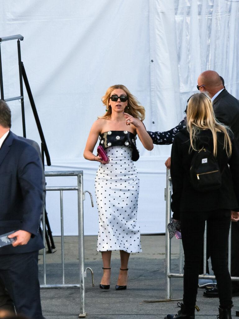 Scarlett Johansson at the 2020 Film Independent Spirit Awards