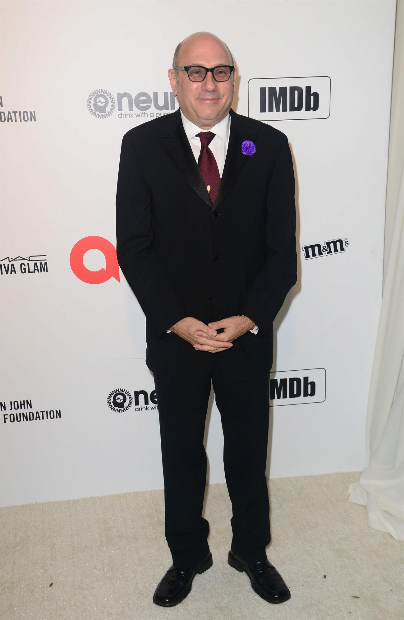 Willie Garson at The Elton John AIDS Foundation Academy Awards Viewing Party
