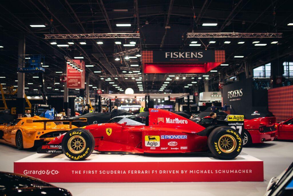 First Formula 1 Ferrari driven by Michael Schumacher up for sale