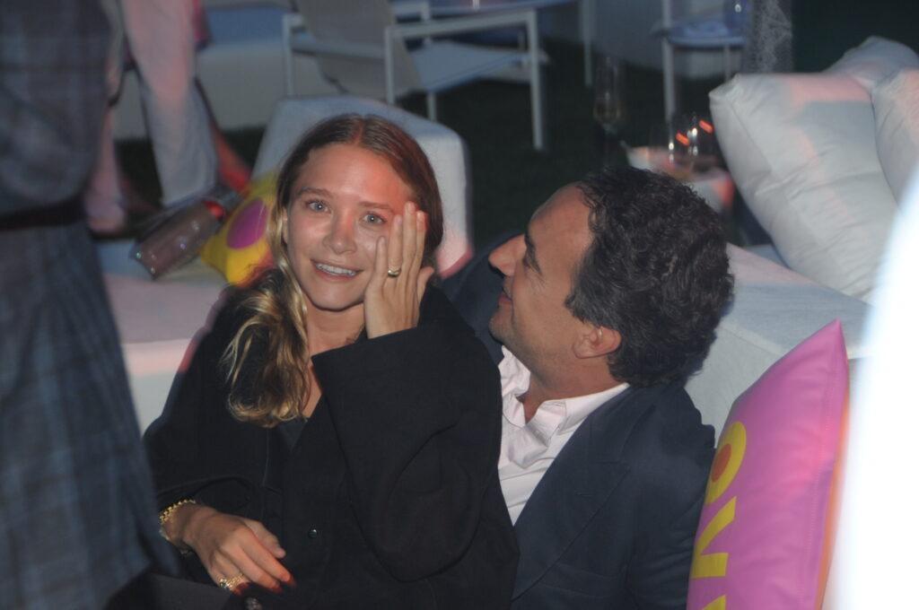 Mary Kay Olsen and Olivier Sarkozy at the Hampton Classic
