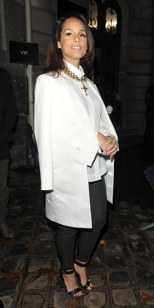 Celebrities attend the Paris Fashion Week a w 2012 Givenchy catwalk show