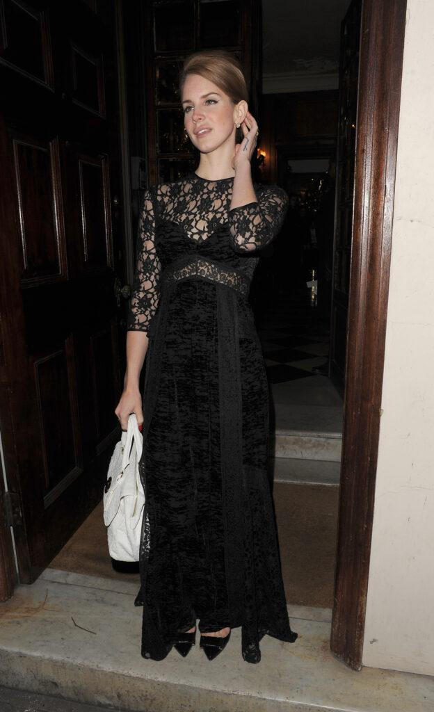 Celebrities attend the London Fashion Week a w 2012 Mulberry Private Dinner