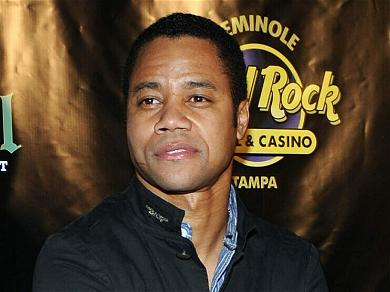Cuba Gooding Jr. Goes Unclad At Alice & Olivia's Fashion Show During NYFW
