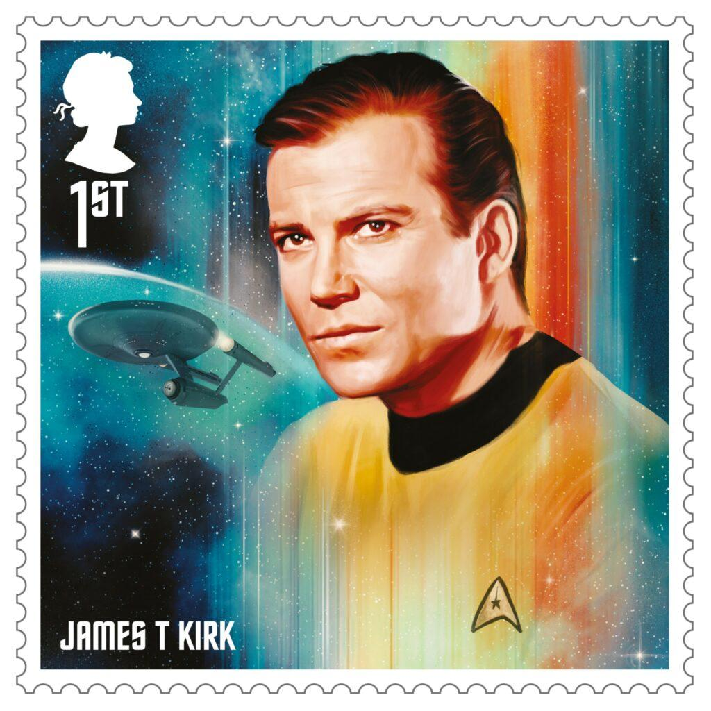 Royal Mail unveils apos Star Trek apos stamps