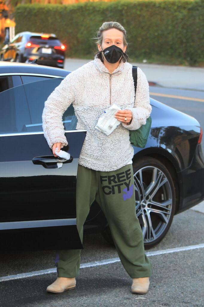 Sarah Paulson out running errands in Beverly Hills