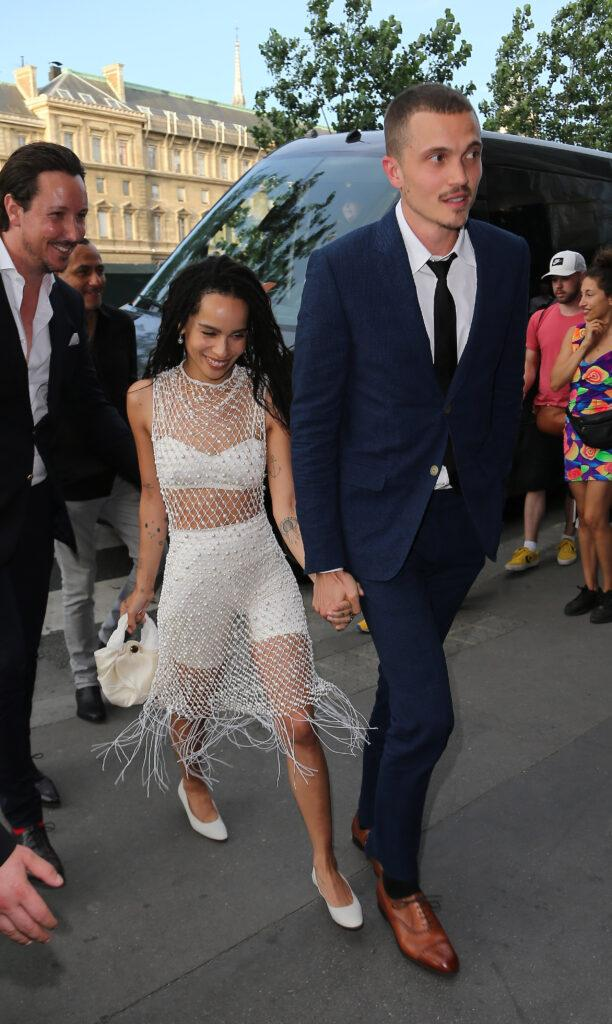 Zo Kravitz Has Reportedly Filed for Divorce From Karl Glusman 18 after their wedding in Paris