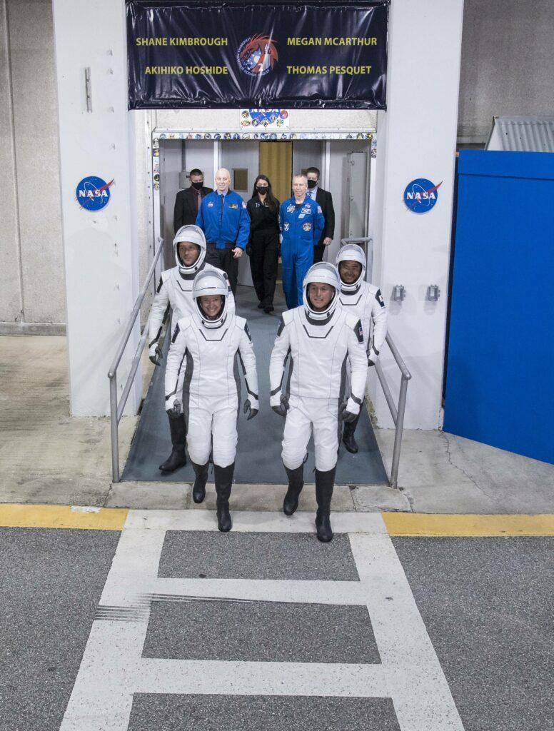 SpaceX Crew-2 Preflight
