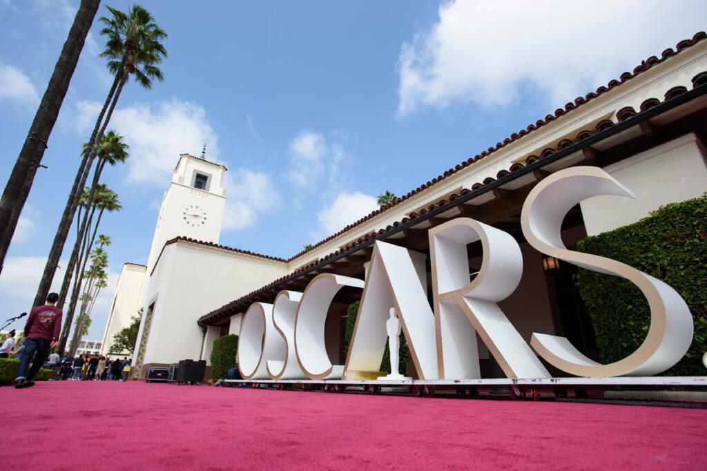 93rd Oscars Academy Awards Set Up