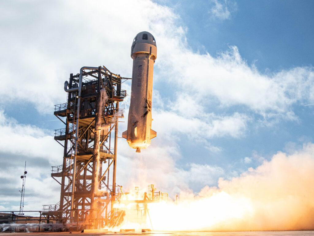 Seat on Jeff Bezos s Blue Origin flight into space sells for 28 million USD at auction