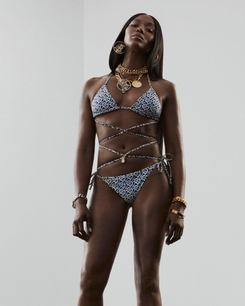 Naomi Campbell showcases toned body in Burberry campaign