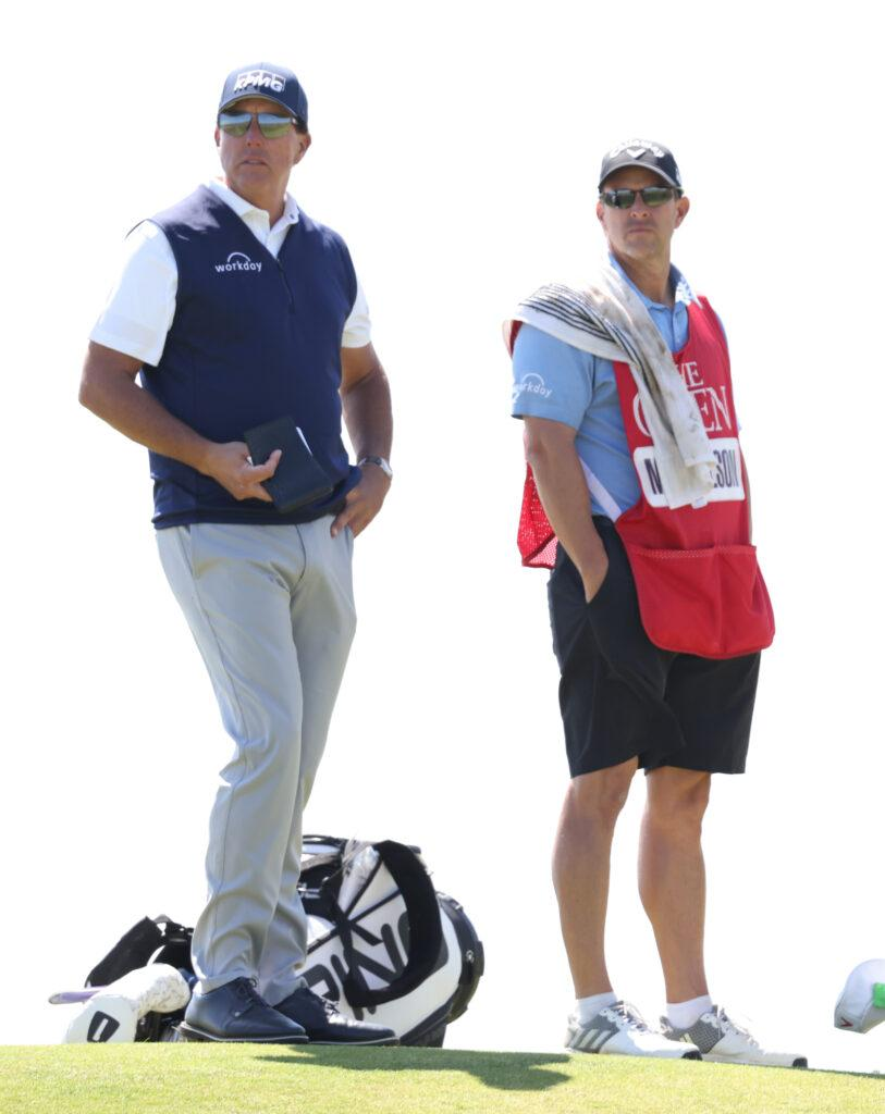 Round two of the 149th Open Championship at Royal St George apos s Golf Course