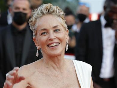 Sharon Stone Shares Alluring Sunbathing Snaps In Black Swimsuit