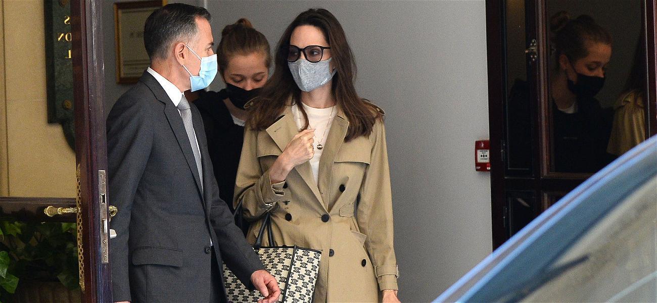 Harvey Weinstein Denies Ever Assaulting Angelina Jolie