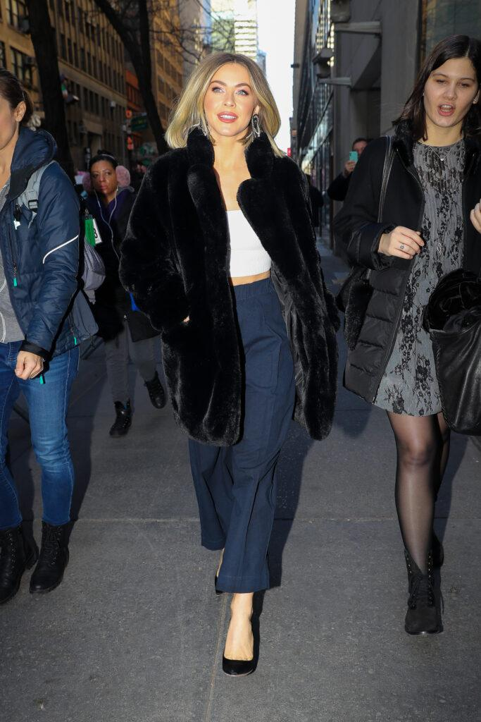 Julianne Hough seen leaving the Today Show on Dec 05 2019