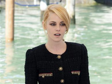 Kristen Stewart Debuts New Hair & Puts On A Very Leggy Display At The 'Spencer' Premiere In Venice