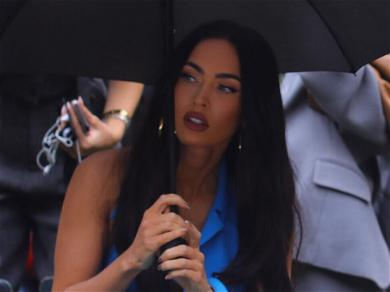 Megan Fox Wears Next To Nothing Underneath See-Through Dress At The VMAs