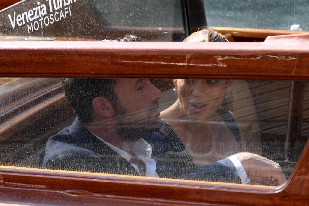 Ben Affleck and Jennifer Lopez arrive at the 78th Venice International Film Festival