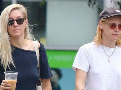 Kristen Stewart & Dylan Meyer Step Out For Latte In NYC