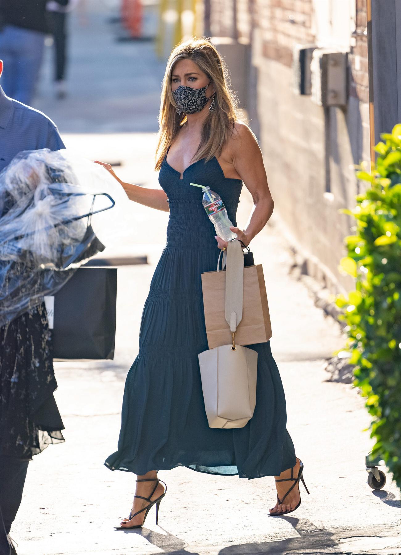 Jennifer Aniston at Kimmel