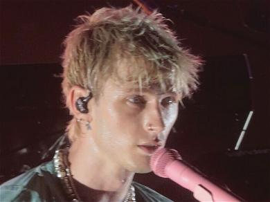 Machine Gun Kelly Fights With Concertgoer At The Louder Than Life Festival, Denies He Was 'Booed'