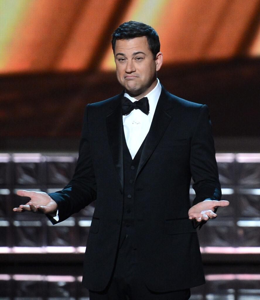 Jim Kimmel attends the 64th Primetime Emmy Awards in Los Angeles