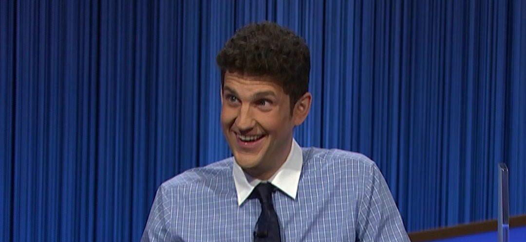 Matt Amodio's Run Leaves Its Mark On 'Jeopardy!' Hall Of Fame