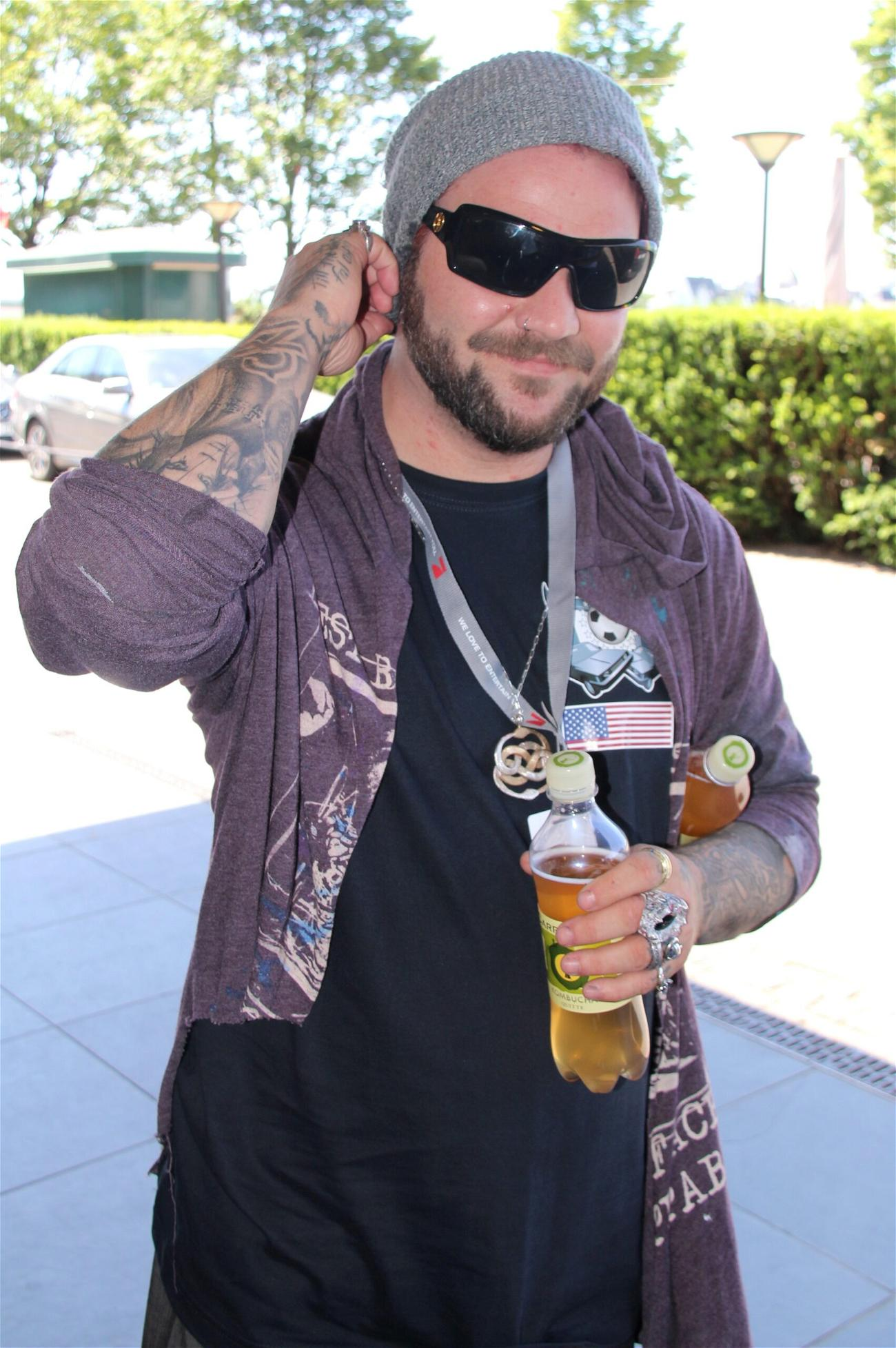 Bam Margera Detained After Allegedly Threatening To 'Jump Off A Bridge'