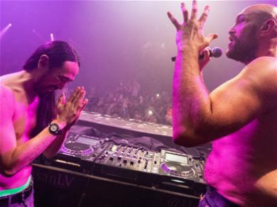 Tyson Fury Sings 'Sweet Caroline' Shirtless In Vegas Nightclub Afterparty!