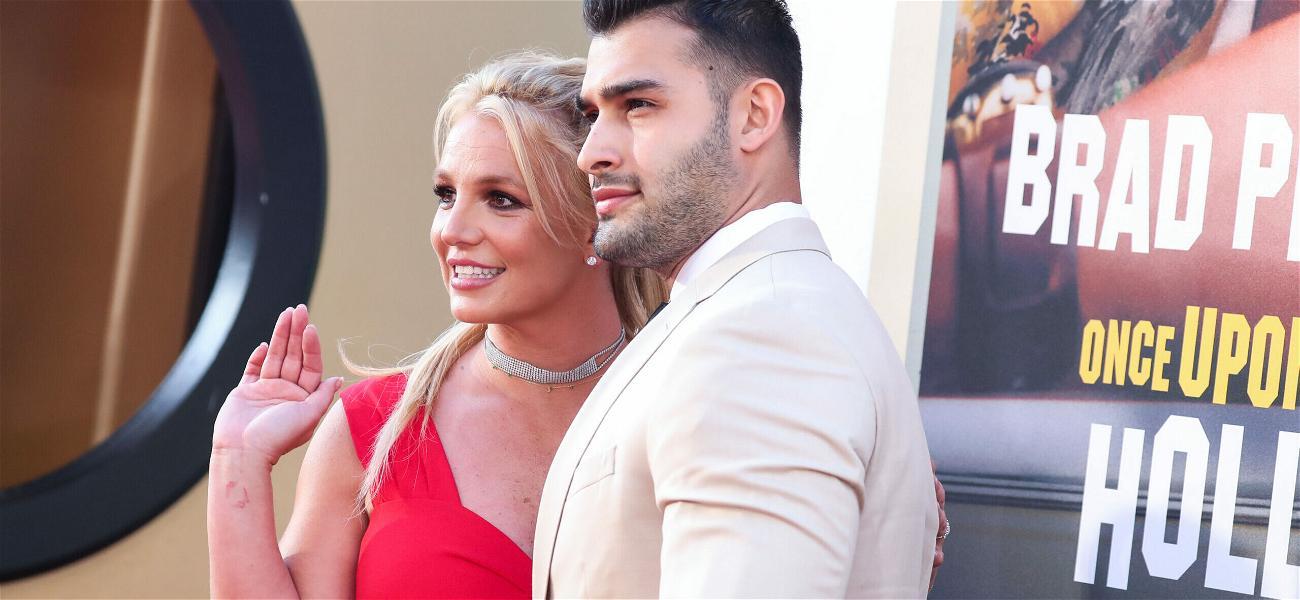 Sam Asghari & Britney Spears Will Not Crop Their Doberman Puppy's Ears