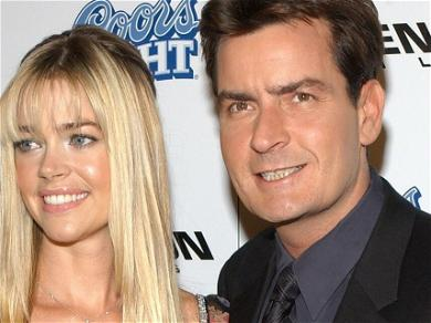 Charlie Sheen Scores HUGE In Court, Owes Denise Richards Zero In Child Support