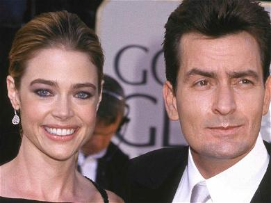 Denise Richards' Husband Is Very 'Upset' By The Charlie Sheen Situation