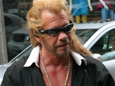 Dog The Bounty Hunter Filming Search For Brian Laundrie On Wife's Cell Phone!