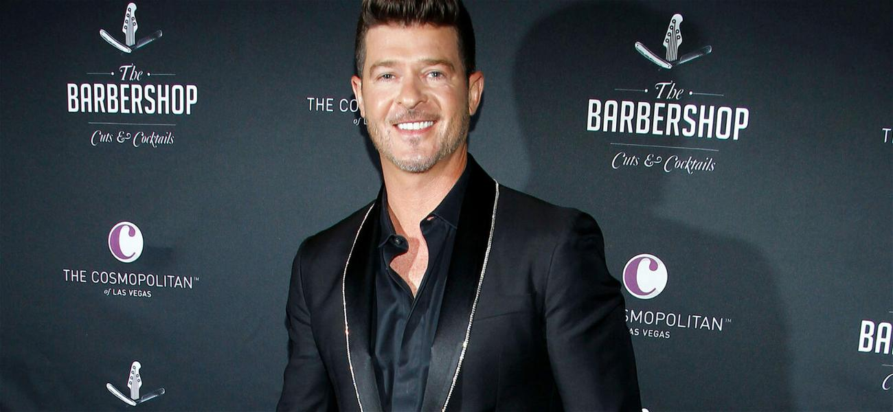 Robin Thicke Accused Of Groping Emily Ratajkowski During 'Blurred Lines' Video