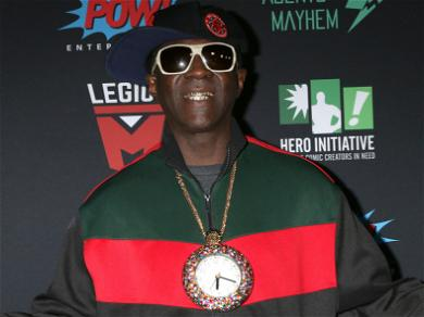 Flavor Flav Busted For Domestic Violence — See The Crazy Mugshot!