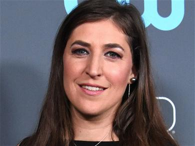 Mayim Bialik Tempts Crew With Cupcakes To Win 'Jeopardy!' Hosting Gig