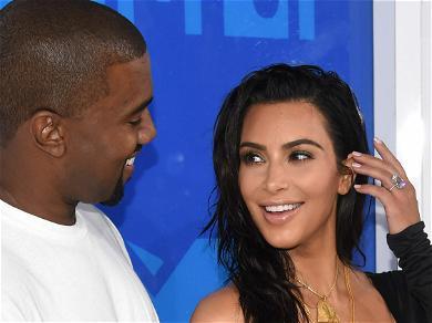 Kim Kardashian, Kanye West 'Kept Waving And Making Eyes At Each Other' During 'SNL' Debut