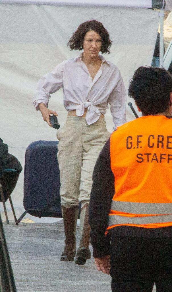 Phoebe Waller-Bridge filming Indiana Jones 5 in Cefalù, Sicily