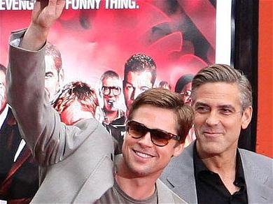 Brad Pitt And George Clooney Are All Set To Share The Screen In Upcoming Thriller