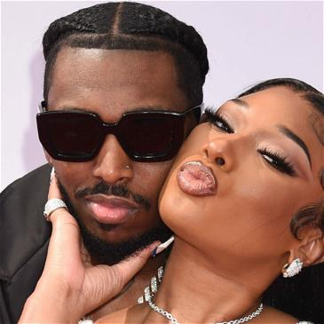 Pardison Fontaine Gifts Megan Thee Stallion Huge Diamond Chain For 1-Year Dating Anniversary