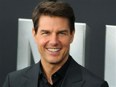Tom Cruise Serenaded With Top Gun Music At L.A. Dodgers Playoff Game!