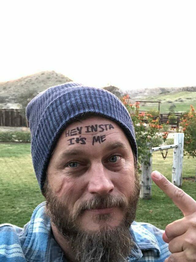 Actor Travis Fimmel Reveals He Suffers From Stage Fright In Auditions