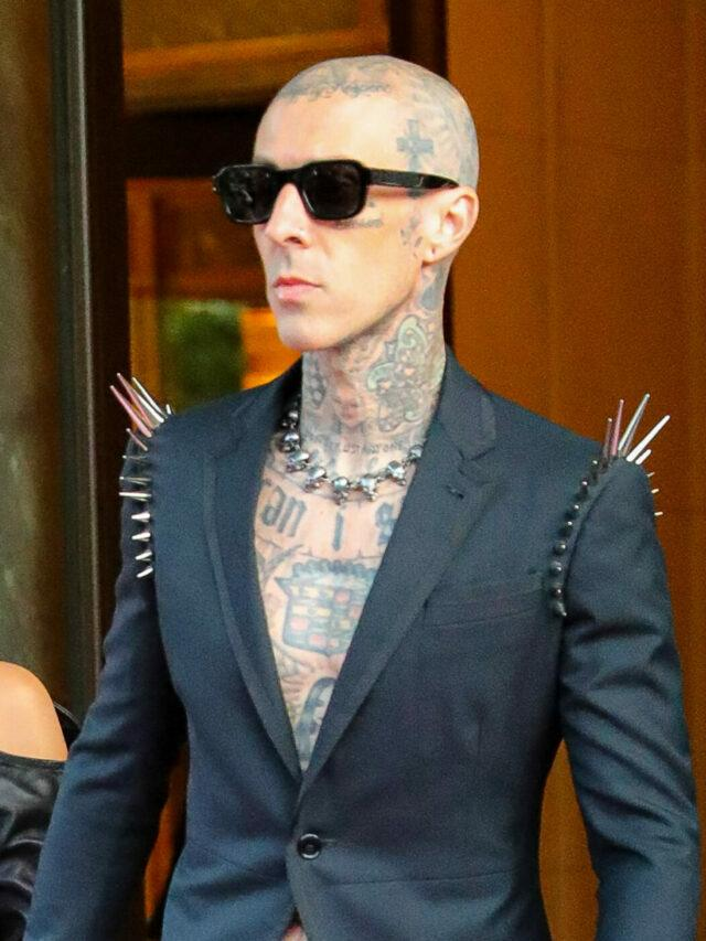 Travis Barker Gets Rid Of Tattoo With Ex-Wife's Name